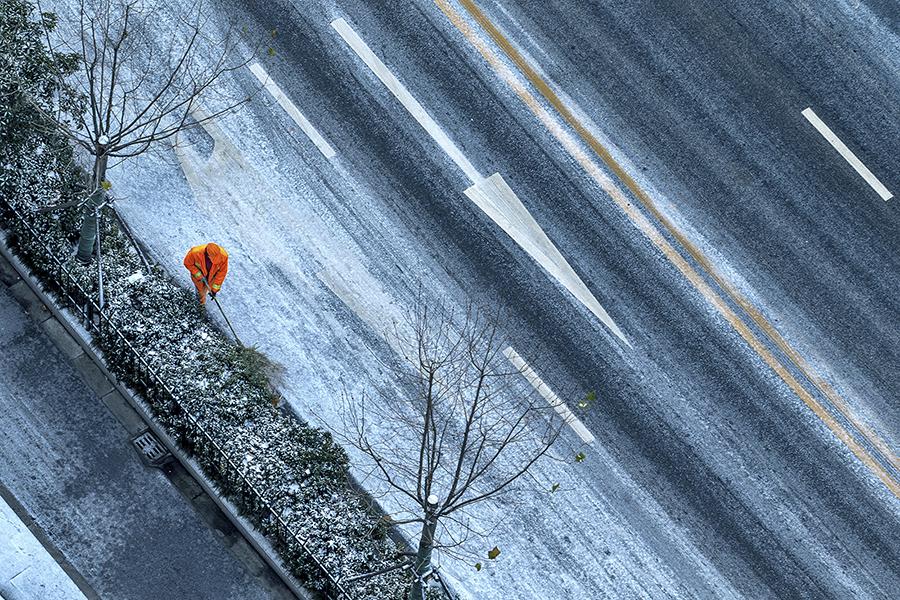 雪后(金洁 摄)